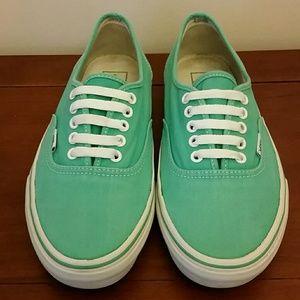 Vans turquoise